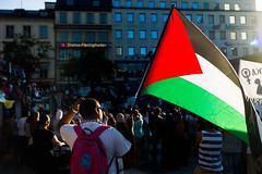 Demonstration in support of the Gaza population (staca) Tags: sweden stockholm genocide manifestation gaza palestinians 2014 23juli gazaunderattack leicam9 summilux35mm14 staffancarlsson zionistmassacreingaza 19601966chromee41