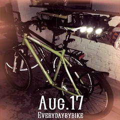 #everydaybybike #fixie #cycle #bike #mtb #ghost #lector #mnster (Singlespeed2011) Tags: bike square ghost cycle squareformat mtb fixie mnster lector iphoneography instagramapp