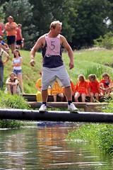 Crazy Raft Race _ 117 (lens buddy) Tags: uk england wet somerset rafting raft watersports fancydress cameraclub summergames langport thorney canoneosdigital crazyrafting lowlandgames2014