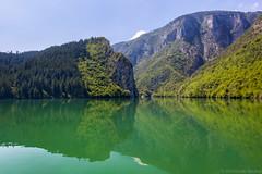 The Drina River Gorge (Irene Becker) Tags: tara bosnia serbia canyon balkan srbija drina bosniaandherzegovina republikasrpska taramountain drinariver viegrad bajinabata westserbia irenebecker nacionalniparktara peruaclake imagesofserbia irenebeckereu thedrinarivergorgecruise drinarivercanyon