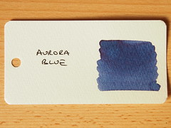 Aurora Blue - Word Card