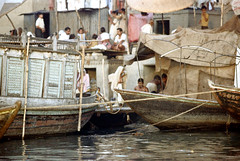 22-397 (ndpa / s. lundeen, archivist) Tags: people india color men film 35mm river boats 22 boat women indian nick steps wash varanasi bathe watersedge bathing 1970s riverbank kashi washing allrightsreserved ganga ganges ghats banaras benares ghat dewolf riversedge uttarpradesh northernindia nickdewolf photographbynickdewolf reel22 ©thenickdewolffoundation imageuserequestsarewelcomeviaflickrmailornickdewolfphotoarchiveatgmaildotcom