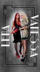 Vanessa_Lena581phone03 (piloukam) Tags: girl lady fetish shoes highheels barbie gimp heels spike compositing lany lfv hautstalons ladyfetishvanessa
