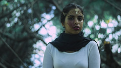 Theater Island (SofaHiggins) Tags: girl forest outdoor queen teen teenager empress teenage