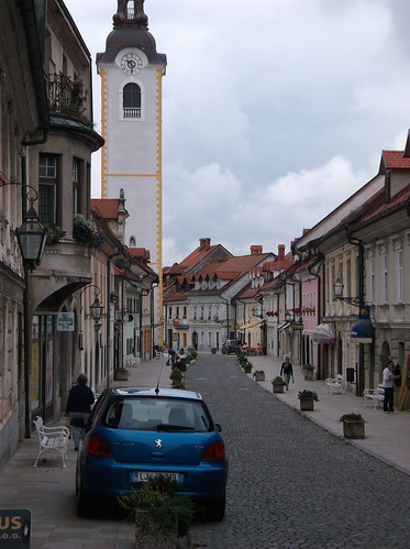 Main street through Kamnik