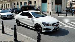 Mercedes-Benz CLA 45 AMG Edition 1 C117 (koza128) Tags: white cars car sedan mercedes benz 1 map poland polska spot 45 exotic german mercedesbenz warsaw spotted edition luxury supercar spotting warszawa amg supercars cla carspotting c117