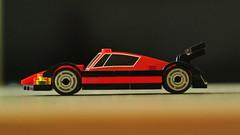 Endurance Racing Car (updated version) (hajdekr) Tags: car toy automobile lego racing vehicle racers endurance racer racingcar supersport moc myowncreation microscale