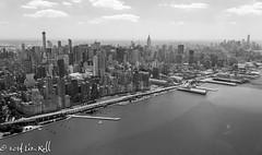 West Side, BW (rollfilm2) Tags: city newyorkcity urban usa newyork water america river pier us unitedstates manhattan places aerial midtown transportation northamerica hudson bodiesofwater eastcoast urbanlandscape