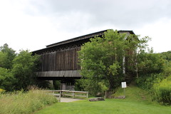 Fisher Railroad Covered Bridge (pegase1972) Tags: bridge usa us vermont unitedstates newengland coveredbridge vt tatsunis