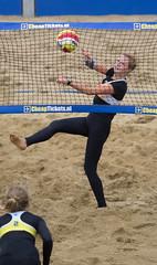 P8170775a (roel.ubels) Tags: beach sport scheveningen denhaag beachvolleyball volleyball thehague volleybal nk 2014 beachvolleybal nevobo