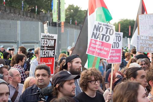 From flickr.com: NATO Summit Protest {MID-302750}