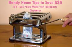 Handy Home Tip #4 (krapzapper) Tags: handy pentax humor humour pasta squeeze domestic tip toothpaste nz novel grind finance moneysaver k3 wring krapzapper