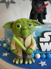 Yoda (Pastelera Bakery Shop) Tags: palmademallorca pasteles islasbaleares pastelesdecorados pastelesdecoradospalmademallorca