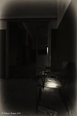 Chair (Salamone Giuseppe) Tags: bw white black abandoned nikon decay hell inferno bianco nero desolation d300 abbandoned abbandono decadenza desolute maggiordomo trashbit memoriaof hourofthesoul lodeallinviolato hauntingmono