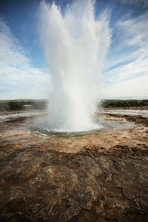 The Great Geysir Strokkur