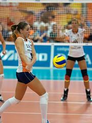 P9070717b (roel.ubels) Tags: sport deutschland nederland trophy volleyball leek dela volleybal oranje duitsland 2014
