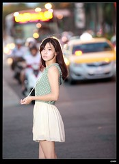 nEO_IMG__MG_4244 (c0466art) Tags: road street light portrait baby west bus girl beautiful car night canon photo eyes pretty sweet quality taipei lovely activity pure  5d2 c0466art