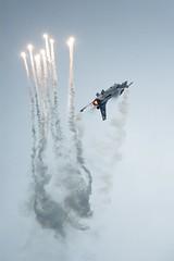Belgian F-16 (Patrick Frauchiger) Tags: show sky army schweiz switzerland force suisse anniversary aircraft military air 14 flight airshow f16 belgian tribute stunt militr payerne vaud 2014 flug luftfahrt kunstflug flugshow airobatic air14