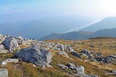 Rocks at Ben Narnain (Burnside Photos) Tags: blue mountain scotland rocks long ben sunny calm loch narnain
