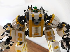 Golem front (prinzipiell_lgo) Tags: robot lego scifi golem mech moc hardsuit exosuit
