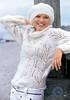 Diana 2013-2 (Homair) Tags: hat sweater fuzzy diana mohair combo