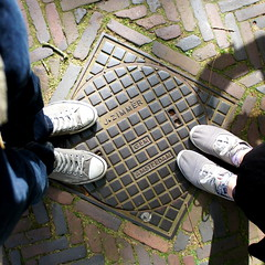 Drain cover in Amsterdam
