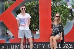 KL City Gallery (Alex.Quick) Tags: city travel red holiday travelling smile pose photography travels gallery shot picture pic backpacking photograph malaysia backpack kuala ho backpacker kl lumpur kua i