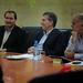 Mauricio Macri junto al recientemente electo Intendente de Marcos Juarez Pedro Dellarossa