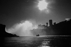 (tsering.phurpu) Tags: vacation newyork canada nature water weather river landscape niagarafalls boat 3d dusk sightseeing documentary tunnel changing raincoat climatechange reportage constantly lifeinnewyork legendofniagara