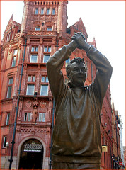 Pride of the Forest (Canis Major) Tags: nottinghamforest statue winner manager brianclough cloughie