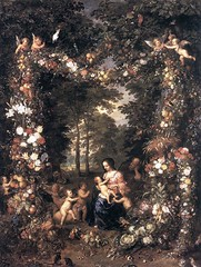 Set of paintings of the artist Jan Bruegel the Elder 1568-1625 - by Amgad Ellia 02 (Amgad Ellia) Tags: set by artist jan paintings elder amgad ellia bruegel 15681625