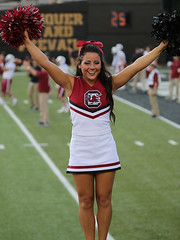 University Of South Carolina Cheerleader (Paul Robbins - BNA-Photo) Tags: cheerleaders southcarolina usc cheer cheerleader cheerleading usccheerleaders collegecheer cheerleadercollege southcarolinacheerleaders