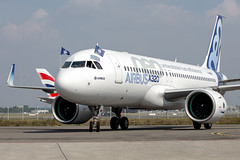 Airbus A320 Neo (Rami Khanna-Prade) Tags: plane aircraft engine airbus neo avion tls prattwhitney firstflight 1stflight airbusindustrie purepower 1ervol lfbo aeroporttoulouseblagnac toulouseblagnacairport pw1100g fwneo msn6101 25thseptember2014 prattwhitneypw1100g pw1100jm