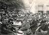 Groningen Hoendiep personeelsuitstapje Friesch-Groningsche Coöperatieve Beetwortelsuikerfabriek 1917 (hjrnoorden) Tags: hoogkerk