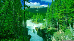 I Love Green Nature (grumpybutgorgeouspamperparty) Tags: greenwaterfall landscape greenforest greennature