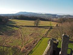 View from Craigmillar Castle Edinburgh (cmax211) Tags: infocus highquality view craigmillar castle edinburgh scotland