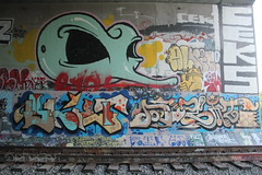 Blief, Digit, Maska, Ceks (nobammermane) Tags: ceks roller maska blief digit bayarea graffiti ripceks