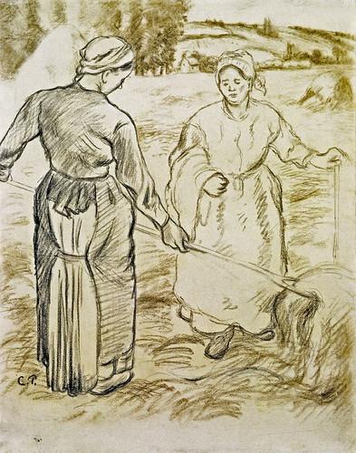 Faneuses (C Pissarro)