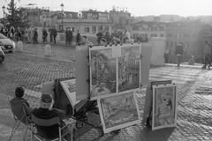 Roma, Novembre 2016 (David Pellicola) Tags: roma analog fotografiaanalogica nikon nikonfm2 fomapan fomapan400 rome biancoenero blackandwhite blackwhite