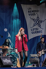 A55T1025 (Nick Kozub) Tags: francofolies ariane brunet outdoor show spectacle energy concert music 1dx canon ef 80200 f28 l montreal 2016 evening performance performer musician festival