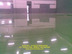Epoxy lantai selevelling khusus gudang alat berat. Untuk pemasangan bisa si hubungi di tlp. 085216781661-02548484705 (Epoxy Lantai) Tags: epoxy lantai gudang alat berat