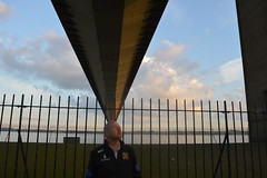 Humber Bridge and Hessle foreshore (Spicygreenginger) Tags: yorkshire hull suspensionbridge humberbridge humber kingstonuponhull hessle andrewreidwildman