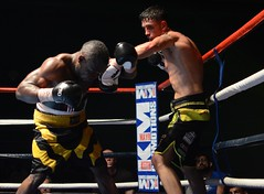Kelvin Young v  Francis Tchoffo (sophie_merlo) Tags: sports sport action boxing kelvinyoung francistchoffo