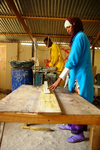 The Somaliland meat development association (SOMDA) makes soap and jewellery from animal waste