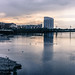 LIMERICK AT SUNSET ON A WET DAY IN JUNE