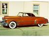 02 Pontiac Chieftrain DeLuxe 1950 altes sonniges Bild von Robbins obg 01