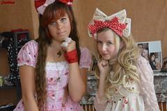 Elise & Me (Jadiina) Tags: pink rose dress elise sweet twin lolita bodyline sweetlolita jsk beuge jumperskirt qutieland chocoberry jadiina jadiinalolita elisefraisouille