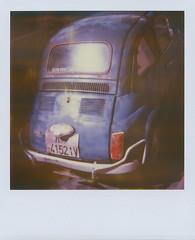 blue cinquecento (dfuster74) Tags: film polaroid sx70 photography instant analogue timezero tzfilm dfuster74