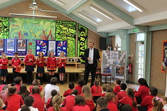"""Stephen Mosley MP meets Cherry Grove Primary school children supporting Send My Friend to School Campaign • <a style=""""font-size:0.8em;"""" href=""""http://www.flickr.com/photos/51035458@N07/14332993858/"""" target=""""_blank"""">View on Flickr</a>"""