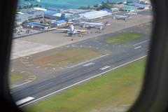 Male Airport (Simon_sees) Tags: travel vacation holiday male tarmac plane airplane airport aircraft emirates airbus boeing maldives 777 a330 srilankan